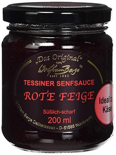 Tessiner Rote Feigen-Senfsauce (1 x 200ml)