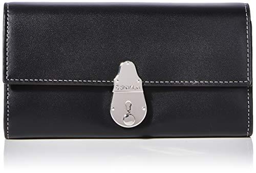 Calvin Klein Locked Trifold - Borse a tracolla Donna, Nero (Black),...
