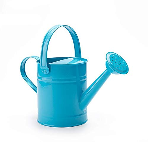 Mokyler Watering Can, Long Stem Spout Watering Can Long Spout Water Can Modern Garden Watering Pot Watering Can with Sprinkler Head Easy Pour Pot for Indoor Outdoor Plants (1.5L, Blue)
