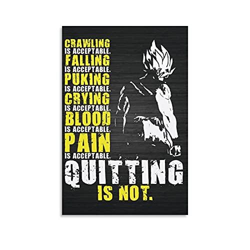 Poster mit Aufschrift
