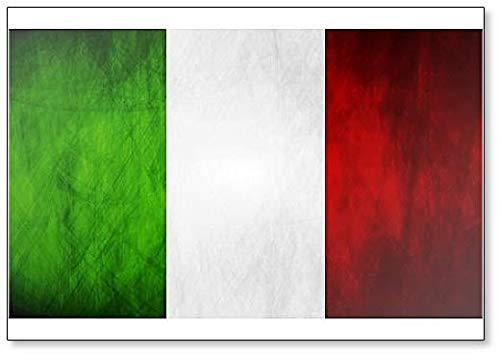 Calamita classica per frigorifero con bandiera italiana