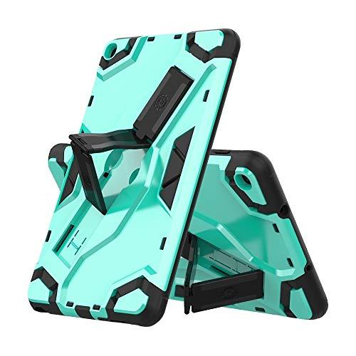 Dmtrab para Para Samsung Galaxy Tab A 8.0 & S Pen (2019) Funda P200 / P205, Funda Protectora a Prueba de Golpes de la Serie de escorts TPU + PC con el Titular (Negro) Casos de la Tableta Galaxy