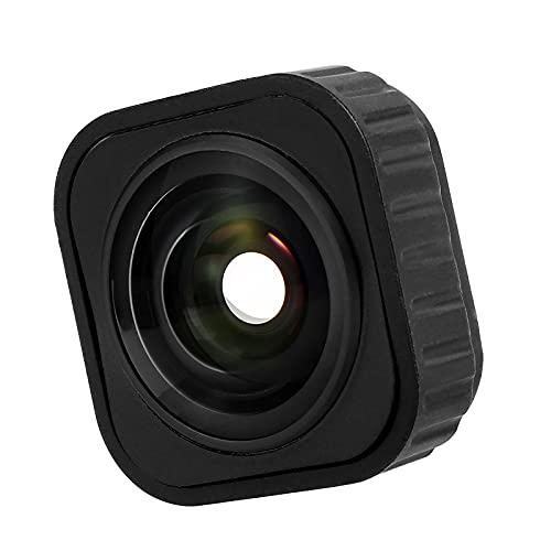 MERIGLARE MAX Lens Mod Compatible con HERO9, un Lente Digital Ultra Ancho de 155˚ FOV, reemplazo Negro Reemplazo