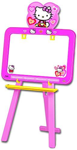 Hello Kitty - Pizarra de plástico, Color Rosa (Saica Toys 9382)