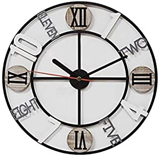 Retro Style with Numeric,Number& Font Design Analog wall clock 30 cm Dia(MGT139)