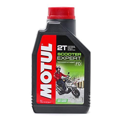 Motul Motoröl 2Takt teilsynthetisch, 1 Liter Scooter Expert - Motorrad Schmierstoffe Motoröl 2-Takt