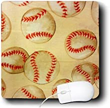 3dRose Baseball Fever Mouse Pad (mp_16371_1)