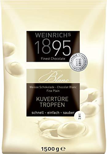 Weinrichs Weiße Tropfen - Kuvertüre - 1500g