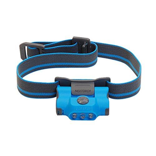 Nextorch NECOSTAR-B Linterna LED frontal, Azul cielo