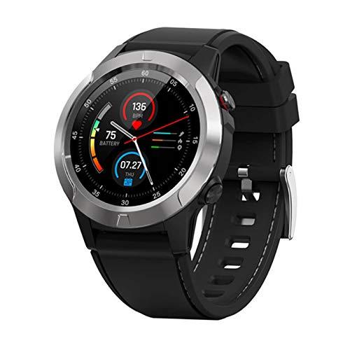XYG M4 Smart Watch Smart GPS brújula barómetro altitud Completa Toque Inteligente Reloj Hombres y Mujeres,B