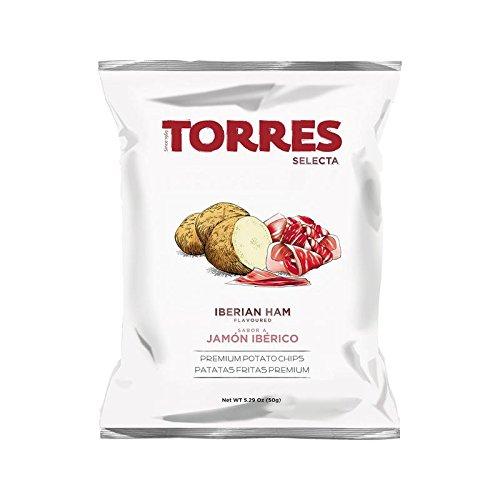 Patatas chips al jamón ibérico