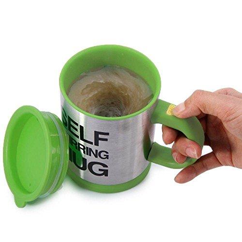 Caneca com Mexedor Automático Original Self Stirring Mug