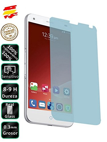 Movilrey Protector para ZTE S6 Plus Cristal Templado de Pantalla Vidrio 9H para movil