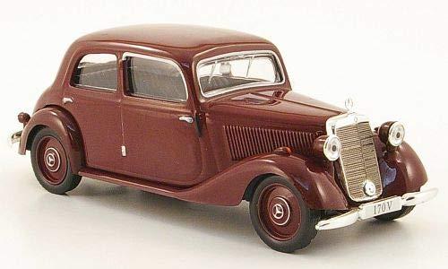 Mercedes 170V Limousine (W136), dunkelrot, 1949, Modellauto, Fertigmodell, SpecialC.-16 1:43