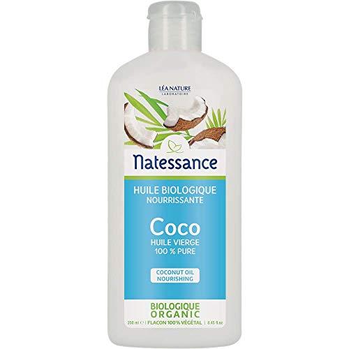 NATESSANCE Huile de Coco 100% Pure BIO