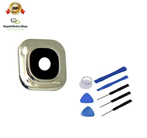 Compatible con Samsung Galaxy Grand Neo/Grand Neo Plus Cámara Lente Cámara Cristal Cámara Lente Lens objetiv + Herramientas