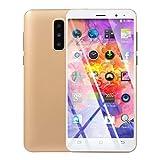 Teléfono Inteligente, 5.8', Doble cámara HD Android 6.0 1G + 4G GPS 3G Llamar teléfono móvil SIM Smartphone Pantalla Completa gsm/WCDMA Pantalla táctil WiFi Bluetooth GPS 3G Llamada #2-Or