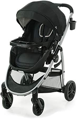 Graco Modes Pramette Stroller Baby Stroller with True Bassinet Mode Reversible Seat One Hand product image