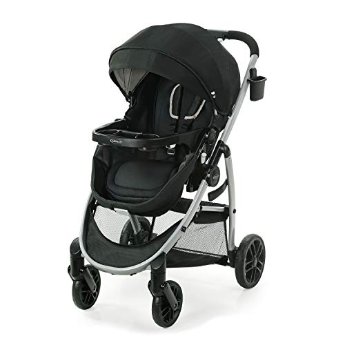 Graco Modes Pramette Stroller, Baby Stroller with True Bassinet Mode,...