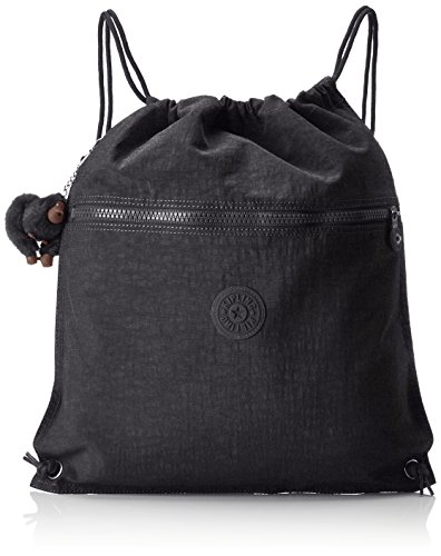 Kipling Supertaboo, Unisex Adults' Backpack, Black (True Black), 15 x 24 x 45 cm (W x H x L)