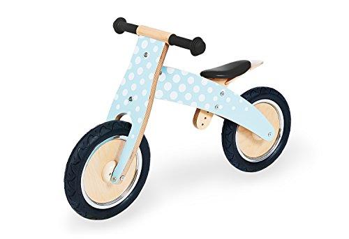 Pinolino 239442 Laufrad Fridolin, Laufrad Holz, unplattbare Bereifung, umbaubar vom Chopper zum Laufrad, für Kinder ab 2 J., mint