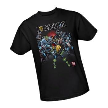 Behind You -- Judge Dredd Adult T-Shirt XXX-Large