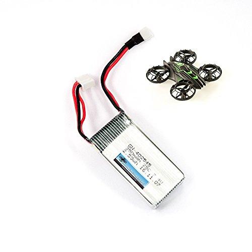 DROHNENSTORE24.DE ...DER DROHNEN-GURU DS24 Ersatz Akku für JXD Invaders 515W Mini Drohne Quadrocopter - LiPo 7.4V 350mAh