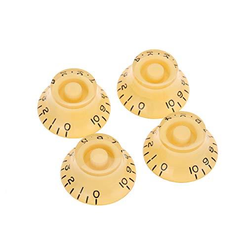 Musiclily Pro Zurdas Tamaño Métrico 18 Splines Botones de Potenciómetros Top Hat...
