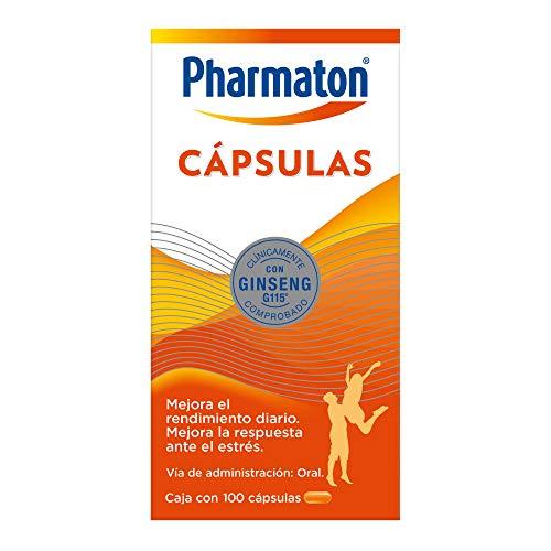 Pharmaton Pharmaton Multivitaminico, 100 Capsulas De 40 Mg, color, 1 count, pack of/paquete de 1