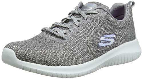 Skechers Damen Ultra Flex Trainers, Grey (Grey Gry), 5 UK (38 EU)