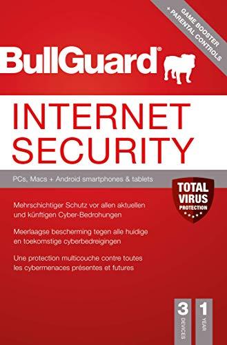 Bullguard Internet Security - 1 Jahr 3 Geräte [Online Code]