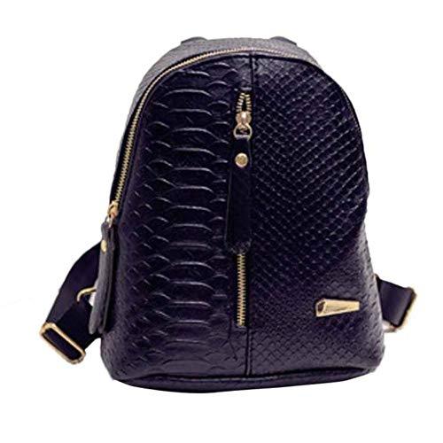 OSYARD Rucksäcke Schultaschen Backpack für Mädchen Frauen Studenten, Frauen Leder Rucksäcke Schultaschen Reise Umhängetasche,Henkeltaschen Schulranzen Freizeit Daypacks Outdoor Sports Taschen