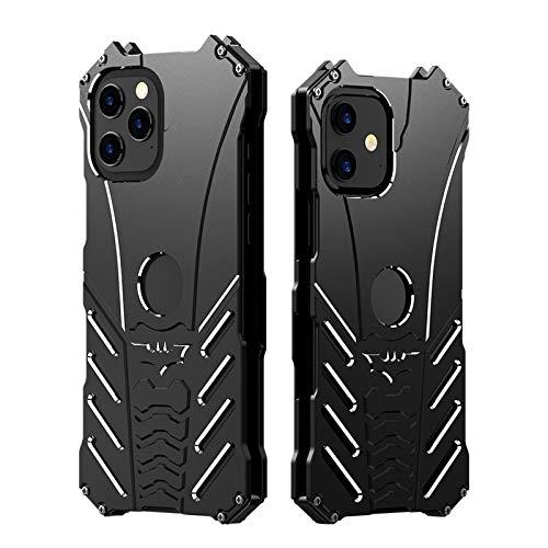 LLGHT Fundas Caja del Metal del Palo del teléfono móvil para iPhone 12 Pro MAX Carcasa Protectora móvil Animada, Todo Incluido, Carcasa rígida Anti-caída (Size : IPhone5/5S/SE)