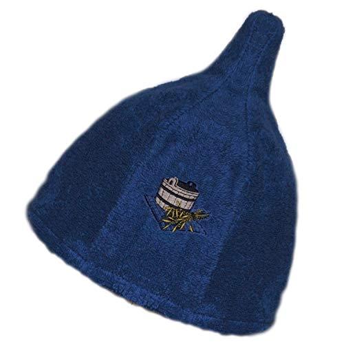 【キマリサウナサプライ】サウナハット サウナ帽子 洗濯可能 サウナー 入浴キャップ 男女兼用 ロウリュウ メンズ レディース コットン100% サ道 パイル生地 タオル生地 整う サウナイキタイ サウナを愛でたい