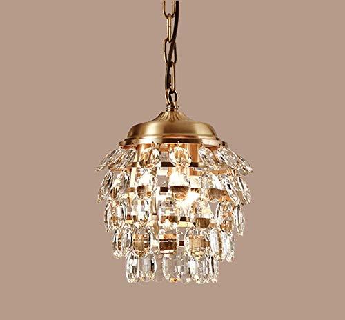 Kroonluchter, kristal, modern, plafondlamp, druppels, cleaner, lampenkap, oorbellen, K9, recht, goud, Raindrop E14, lamp, hanger, elegant, rond, voor woonkamer, slaapkamer, keuken, studeerkamer, kantoor