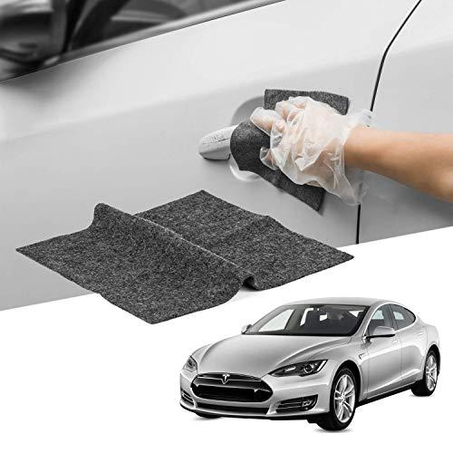 Removedor de Arañazos de Coche - Delaman Nano Tech Smart Scratch Towel Fix Oxidation Coche Raspador Tela Reparar Pintura Multicolor Scratch Smart Cleaning Tool Belleza Coche