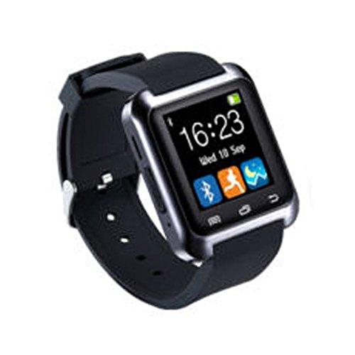 Alicer Bluetooth Smart Watch, U8 Smartwatch für Android iOS, Fitness Tracker Armbanduhr Unterstützung Gesundheit Schrittzähler Schlaf Monitor Alarm Touchscreen Armbanduhr