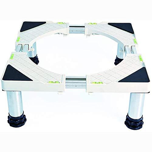 PHOOW Base del frigorífico Máquinas de Lavado Ajustables Sobo Inferior Podeste y Nevera para refrigerador y congelador Longitud/Ancho 48-69cm Refrigerador Rack Tubo Doble Tubo Cargue 500 kg