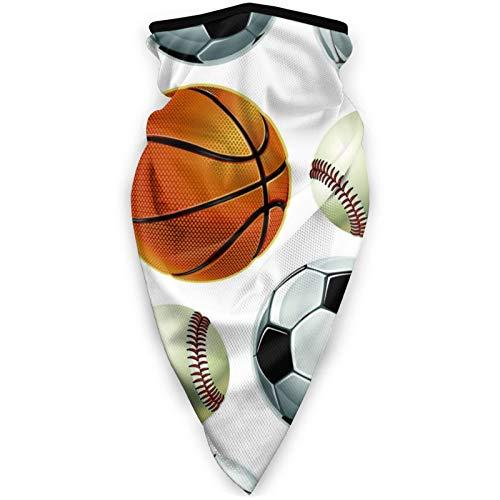 BEHDIJ Pasamontañas Máscara de deportes a prueba de viento, bufanda para mujeres y hombres, al aire libre, cómoda y transpirable, para el cuello, bufanda, béisbol, fútbol, baloncesto