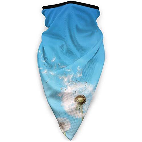 Wish Or Weed diente de león transpirable protector de cuello protector de pierna máscara facial bufanda turbante pasamontañas sombrero bufanda hombres y mujeres máscara facial