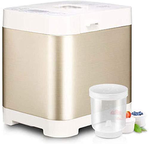 ALYR automáticos Panificadora, Panificadoras Inteligente de múltiples Funciones Yogurt Fermentación Cake Maker 450G / 700G 450W Capacidad,A