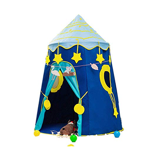 APcjerp Children's Indoor And Outdoor Game Tents Space Capsules Yurts Parent-Child Interactive Castles Toy Houses Children's Tents Play Tent Hslywan