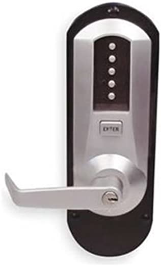 ✅Kaba 5010XSWL-26D-41 Ex Trim with Lever Cyl Push Button Lock Xs 26D, Satin Chrome #Tools & Home Improvement Hardware
