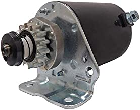 New Starter For Briggs and Stratton Cub Cadet 16.5 17 17.5 HP John Deere New Holland Toro 14 Tooth Steel Gear 593934 693551 LG693551 BS693551