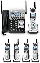 AT&T SB67118 / SB67138 4-Line Corded-Cordless Phone System w/ 5 SB67108 Handsets Bundle photo