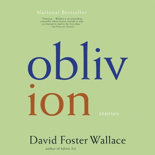 Oblivion audiobook cover art