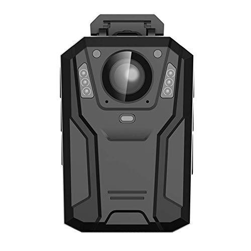 Police Security Body Worn Camera Cámara Llevada Cuerpo De La Policía, Videocámara Video De La Visión Nocturna 8IR De Ángulo Ancho De 150 Grados (32 / 128GB),64G