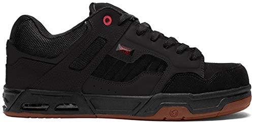 DVS Enduro HEIR Sneaker Herren Schwarz/Rot - 39 - Sneaker Low