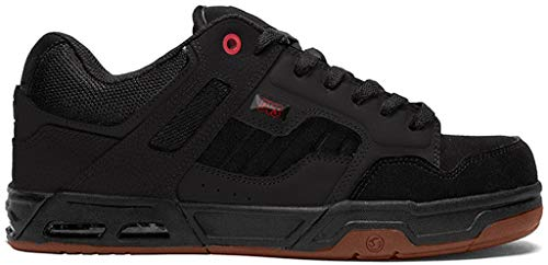 DVS Herren Enduro HEIR, Black/Red Gum New Black, 40 EU