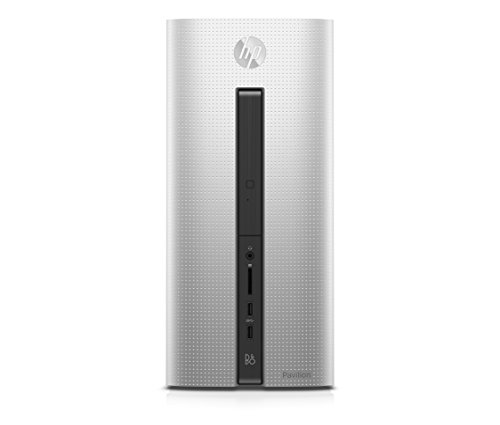 HP Pavilion (550-132ng) Desktop-PC (AMD A10-7800 APU, 8 GB RAM, 1 TB HDD, AMD Radeon (TM) R7, FreeDOS) silber